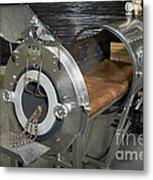 Negative Pressure Ventilator, Iron Lung Metal Print