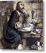 Nicholas Ridley (1500-1555) Metal Print