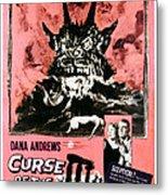 Night Of The Demon, Aka Curse Of The Metal Print
