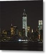 Nyc Harbor View Metal Print