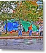 Occupy Buffalo Metal Print