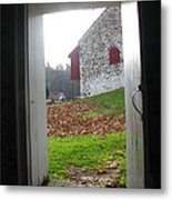 Old Farm Metal Print