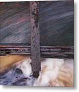 Old Mill Canal Metal Print