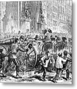 Paris Commune, 1871 Metal Print