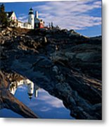 Pemaquid Point Lighthouse Metal Print by Brian Jannsen