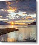 Pend Oreille Sunset Metal Print