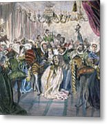 Perrault: Cinderella, 1867 Metal Print