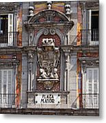 Plaza Mayor Metal Print
