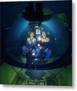 Research Submarine Metal Print
