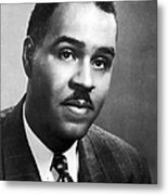 Roy Wilkins (1901-1981) Metal Print
