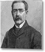 Rudyard Kipling (1865-1936) Metal Print