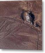 Sandmaps Metal Print