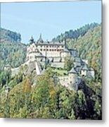 Schloss Hohenwerfen Werfen Austria  Metal Print
