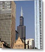 Sears Tower Metal Print