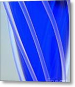 Stained Glass Series  Metal Print by Terry Troupe