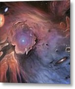 Starbirth Region, Artwork Metal Print