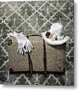 Suitcase Metal Print