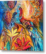 The Grapes Of Holy Land Metal Print by Elena Kotliarker