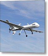 The Ikhana Unmanned Aircraft Metal Print