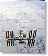 The International Space Station Metal Print
