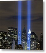 The Tribute In Light Memorial Metal Print