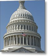 The United States Capitol Building Dome Metal Print