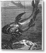Verne: 20,000 Leagues Metal Print by Granger