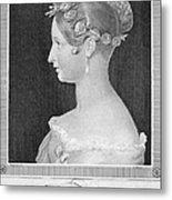 Victoria Of England Metal Print