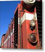 Vintage Diesel Engine Metal Print by Yali Shi