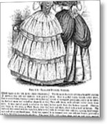 Womens Fashion, 1851 Metal Print by Granger
