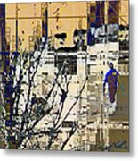 3011 - All Dissolving Into Computer Chips Metal Print