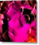 Color Shadows Metal Print