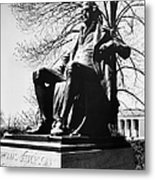 Thomas Jefferson (1743-1826) Metal Print