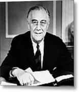 Franklin D. Roosevelt Metal Print
