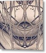 Paint Reflection Metal Print by Odon Czintos