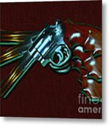 357 Magnum - Painterly Metal Print