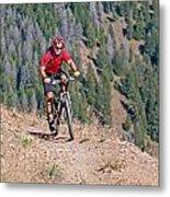 Mountain Bike Metal Print