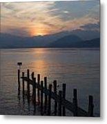 Lake Maggiore Metal Print