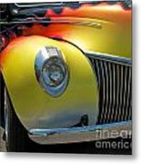 39 Ford Deluxe Hot Rod 3 Metal Print