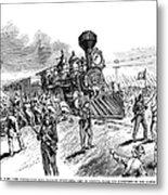 Great Railroad Strike, 1877 Metal Print