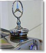 39 Mercedes-benz Emblem Metal Print