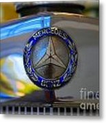 39 Mercedes-benz Logo Metal Print