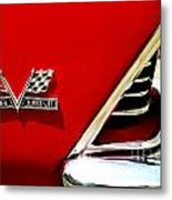 396 Turbo Jet Fender Metal Print