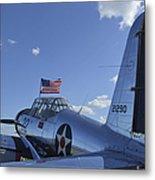 A Bt-13 Valiant Trainer Aircraft Metal Print