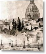 By Italy Metal Print