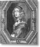 Christina (1626-1689) Metal Print by Granger