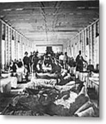 Civil War: Hospital Metal Print