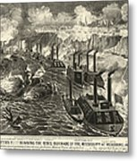 Civil War: Vicksburg, 1863 Metal Print