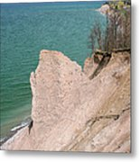 Coastal Erosion Metal Print