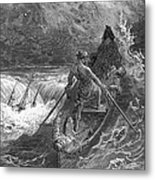 Coleridge: Ancient Mariner Metal Print